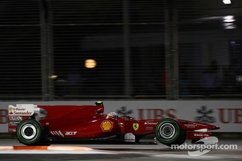 2010 : Fernando Alonso, Ferrari F10