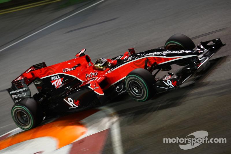 Гран При Сингапура-2010: «паровозик» Глока