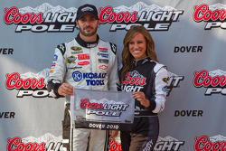 Pole winner Jimmie Johnson, Hendrick Motorsports Chevrolet
