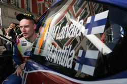 Auto Ford Focus RS WRC08 de Jari-Matti Latvala, BP Ford Abu Dhabi World Rally Team