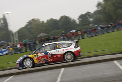 Dani Sordo and Diego Vallejo, Citroën C4 Citroën Total World Rally Team