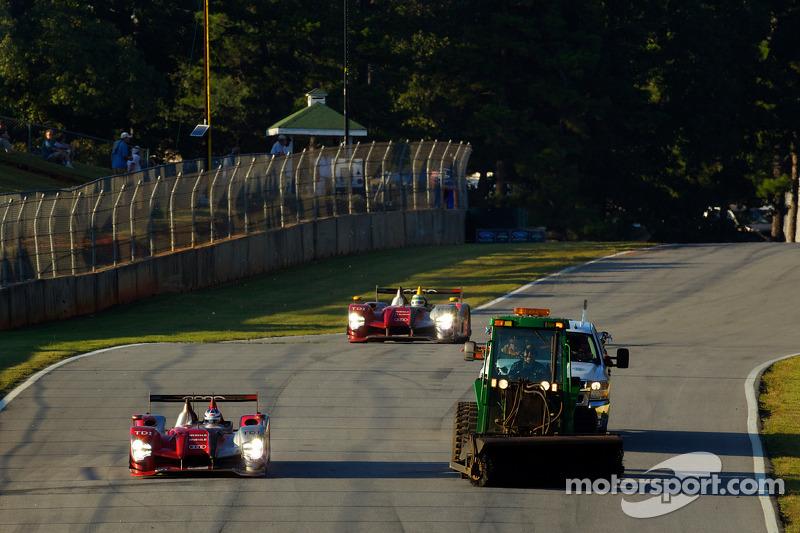 Vegers op het circuit