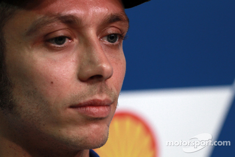 Persconferentie: Valentino Rossi, Fiat Yamaha Team