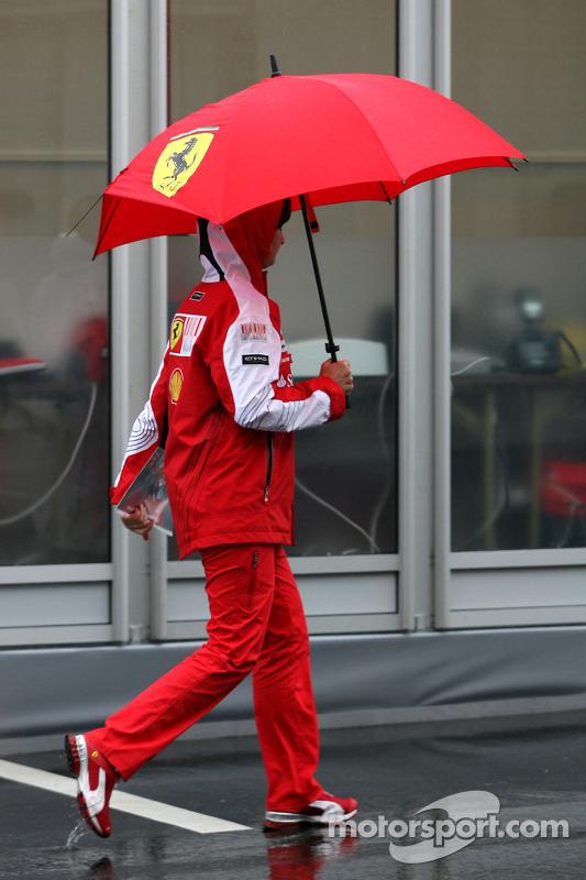 Scuderia Ferrari press officer