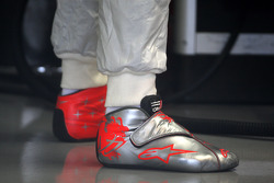 The boots of Michael Schumacher, Mercedes GP