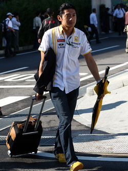 Ho-Pin Tung, testrijder, Renault F1 Team