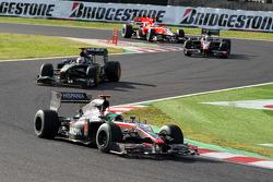 Sakon Yamamoto, Hispania Racing F1 Team, Jarno Trulli, Lotus F1 Team