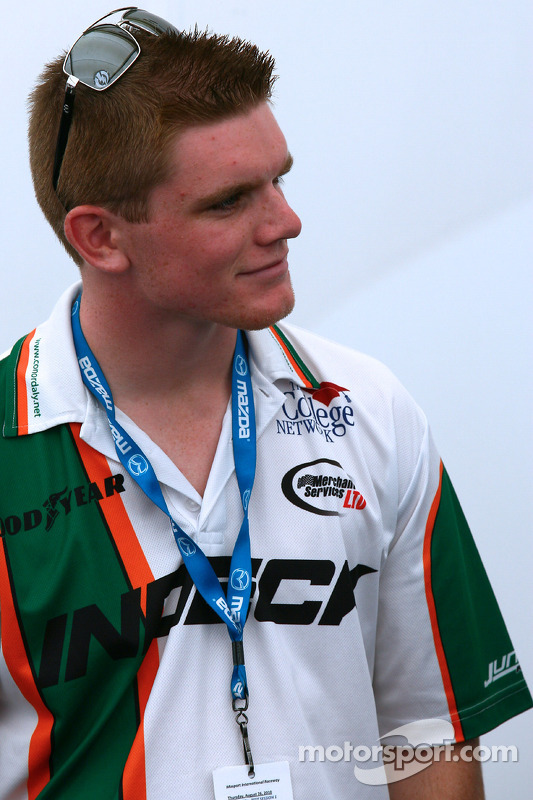 Team USA Scholarship persconferentie: Conor Daly