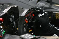 #5 Libra Racing Radical SR9 IES, het stuur
