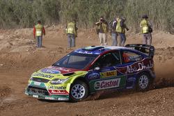 Khalid Al Qassimi and Michael Orr, Ford Focus RS WRC08, BP Ford Abu Dhabi World Rally Team