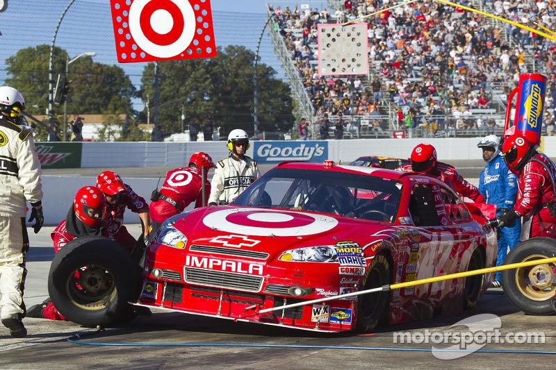 Pitstop Juan Pablo Montoya, Earnhardt Ganassi Racing Chevrolet