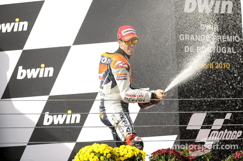 Podium: 3de Andrea Dovizioso, Repsol Honda Team