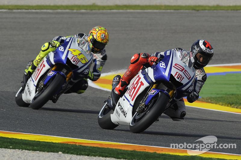 Jorge Lorenzo, Fiat Yamaha Team, Valentino Rossi, Fiat Yamaha Team