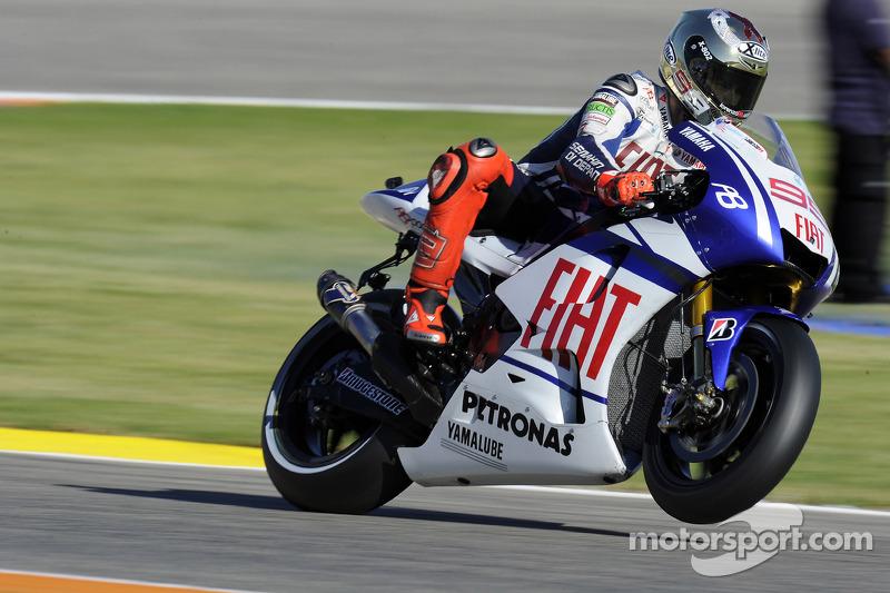 Jorge Lorenzo, Fiat Yamaha Team 2010