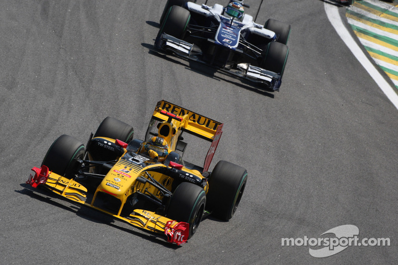Robert Kubica, Renault F1 Team voor Rubens Barrichello, Williams F1 Team