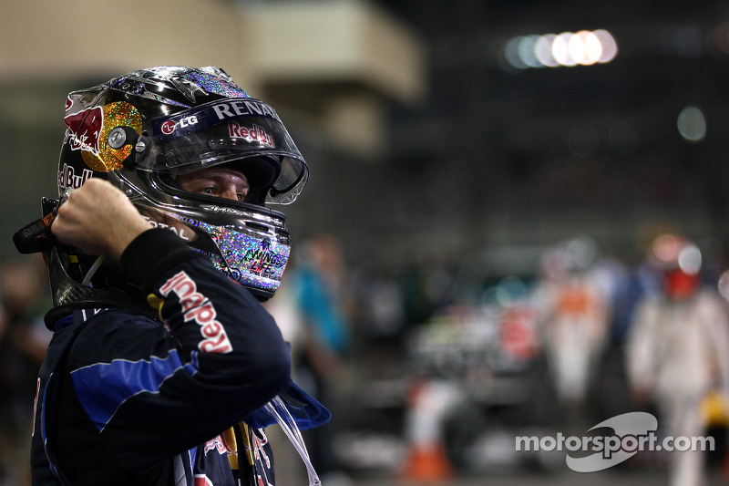 La celebración del campeón del mundo de Fórmula 1 2010, Sebastian Vettel