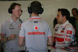 Gary Paffett, testrijder, McLaren Mercedes