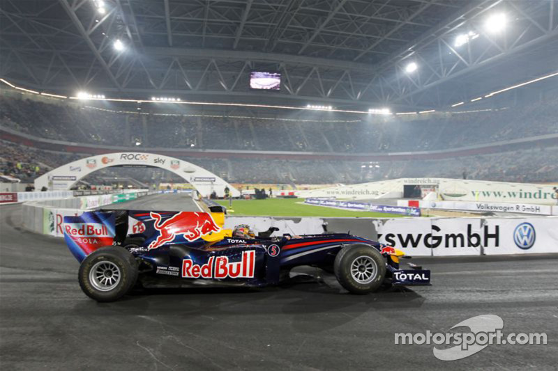 Sebastian Vettel in de Red Bull Racing F1