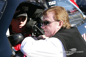 Kevin Harvick, Richard Childress Racing Chevrolet with Richard Childress