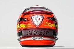 Timo Glock, Marussia Virgin Racing helmet