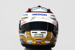 Adrian Sutil, Force India F1 helmet