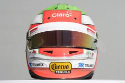 Casco de Sergio Pérez, Sauber F1