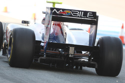 Jaime Alguersuari, Scuderia Toro Rosso, rear detail
