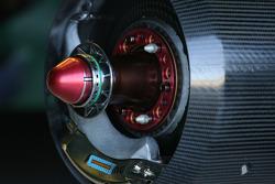 Team Lotus technical detail, brake system