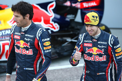 Mark Webber, Red Bull Racing; Sebastian Vettel, Red Bull Racing