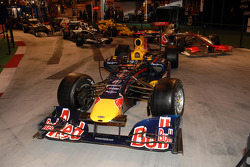 Red Bull Racing leads the Formula 1 Display