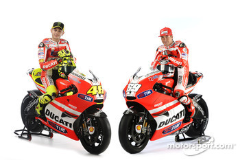 Valentino Rossi, Ducati, Nicky Hayden, Ducati with the Ducati Desmosedici GP11