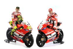 Ducati-Team 2011: Valentino Rossi, Ducati, Nicky Hayden und die Ducati Desmosedici GP11