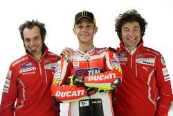 Вітторіано Гуарескі, тестовий гонщик Ducati, Валентино Россі, Ducati