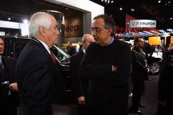 Sergio Marchionne, Ceo Fiat/Chrysler and Roger Penske