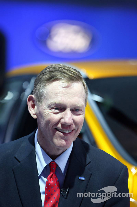 Alan mulally president en ceo ford motor company op north for Ford motor company alan mulally