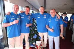 Kamaz-Master reception: Vladimir Chagin, Sergey Savostin and Ildar Shaysultanov