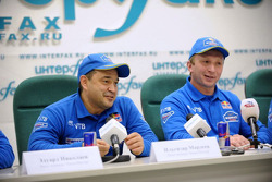 Kamaz-Master press conference at the Interfax news agency: Ilgizar Mardeev and Vladimir Chagin