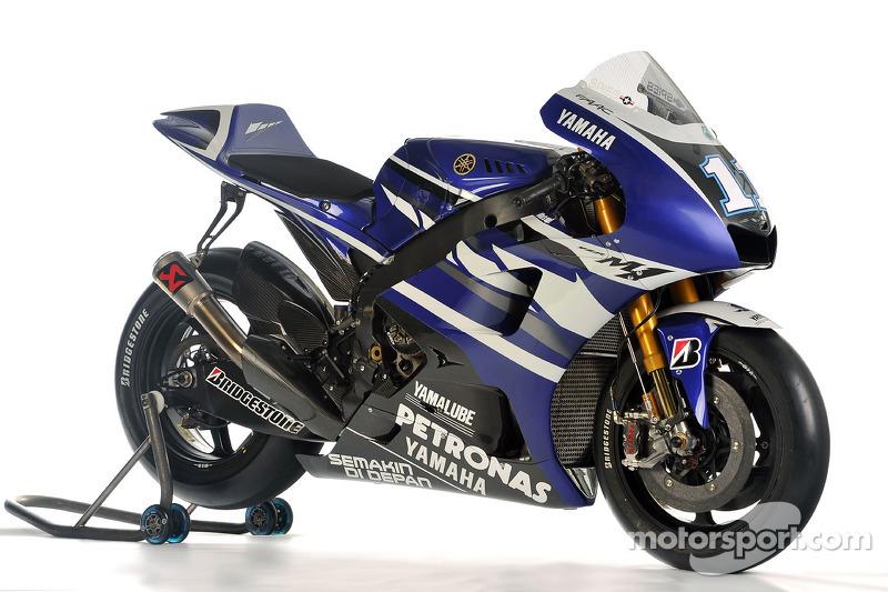 Die 2011er Yamaha YZR-M1
