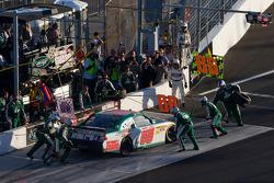 Pit stop for Dale Earnhardt Jr., Hendrick Motorsports Chevrolet