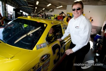 Clint Bowyer, Richard Childress Racing Chevrolet with Richard Childress
