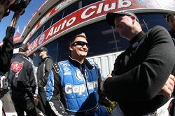 Top Fuel drivers Brandon Bernstein