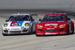 #59 Brumos Racing Porsche GT3: Andrew Davis, Leh Keen, #30 Racers Edge Motorsports Mazda RX-8: Jan Heylen, Ross Smith