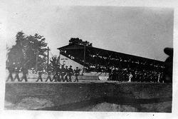1921 Indy 500: Orchester bei der Parade