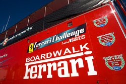 Level 5 Motorsports transporter