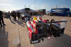 #2 Audi Sport Team Joest Audi R15+ at technical inspection