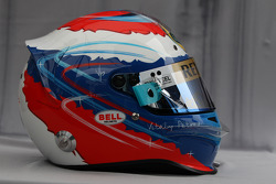 Helmet of Vitaly Petrov, Lotus Renalut F1 Team