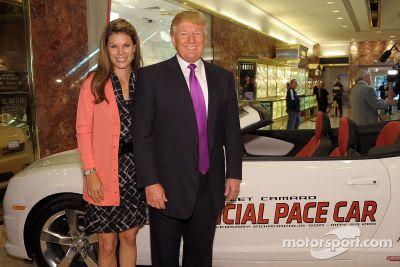 Donald Trump - Indy 500, l'annuncio