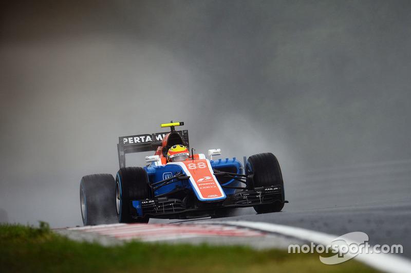 21: Rio Haryanto, Manor Racing MRT05