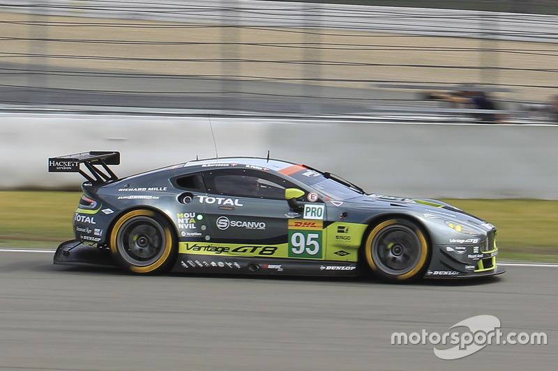 3. GTE-Pro: #95 Aston Martin Racing, Aston Martin Vantage GTE: Marco Sorensen, Nicki Thiim
