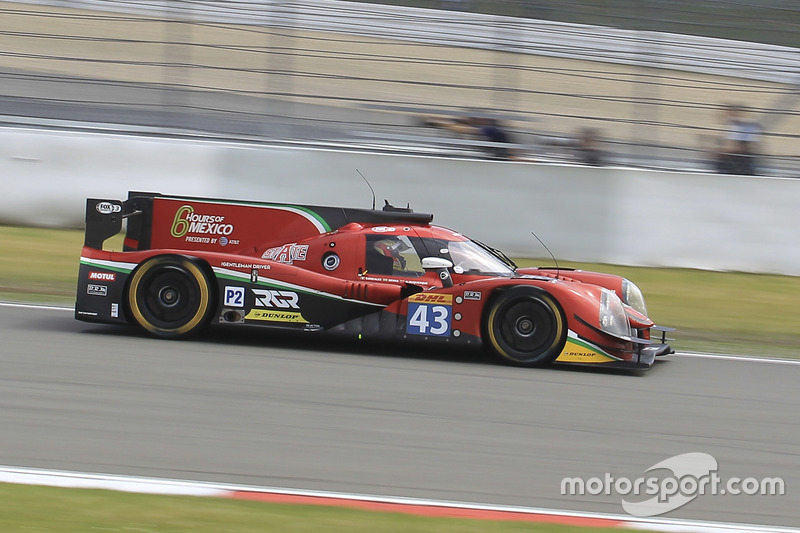 2. LMP2: #43 RGR Sport by Morand, Ligier JSP2 - Nissan: Ricardo Gonzalez, Filipe Albuquerque, Bruno Senna